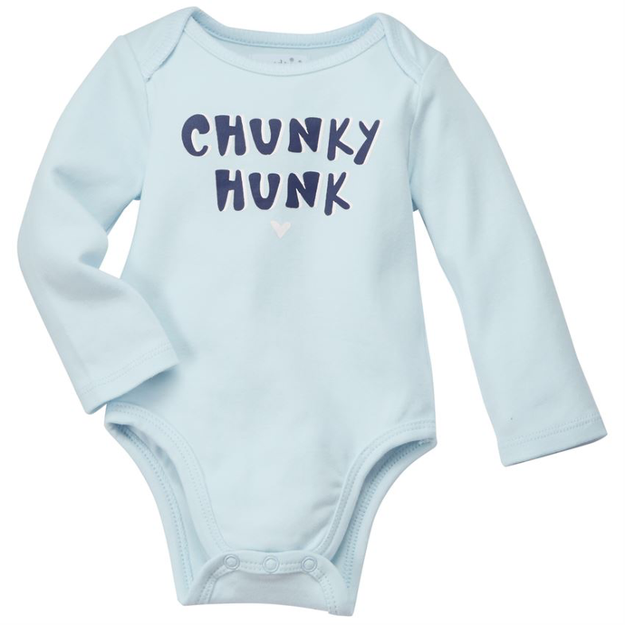 Chunky Hunk Blue Cotton Crawler