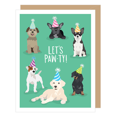 Let's Paw-ty Birthday