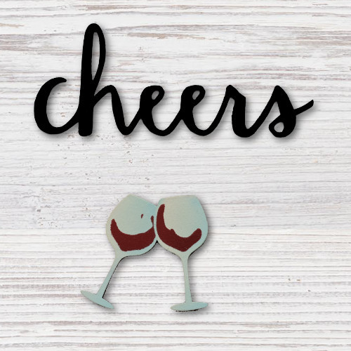 Cheers w/ Wine Glasses