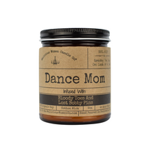 "Dance Mom Candle | Infused With ""Bloody Toes And Lost Bobby Pins"""