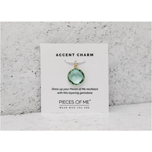 Sea Crystal Accent Charm