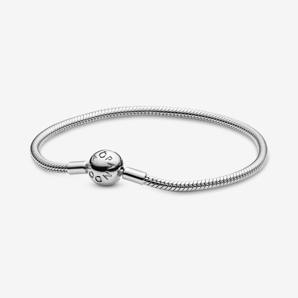 Smooth Sterling Silver Bracelet