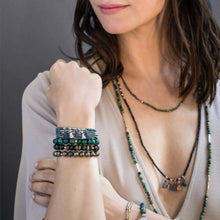 Stone Stacking Bracelet: Pyrite