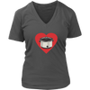 Heart My Slow Cooker V-Neck T-Shirt