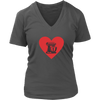 Heart My Mixer V-Neck T-Shirt