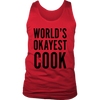 Okayest Cook Mens Tank