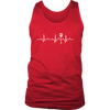 Heartbeat of a Cook Mens Tank