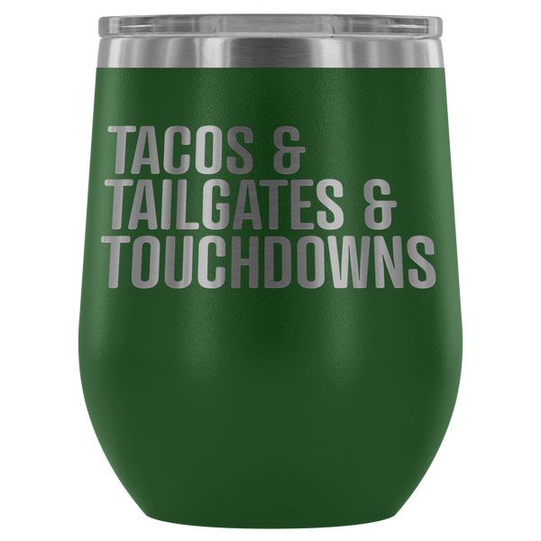 Tailgating Essentials Wine Tumbler