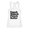 Baking Essentials Ladies Racerback Tank