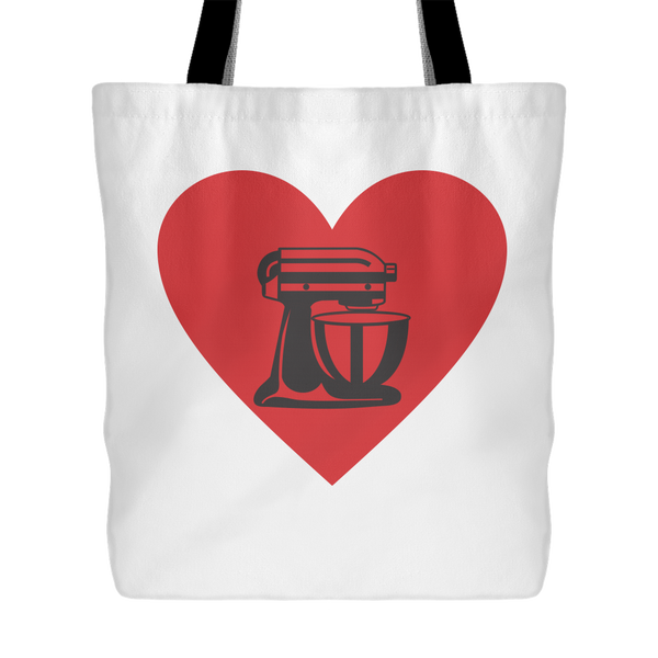 Heart My Mixer Tote Bag