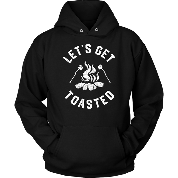 Get Toasted Hooded Sweatshirt