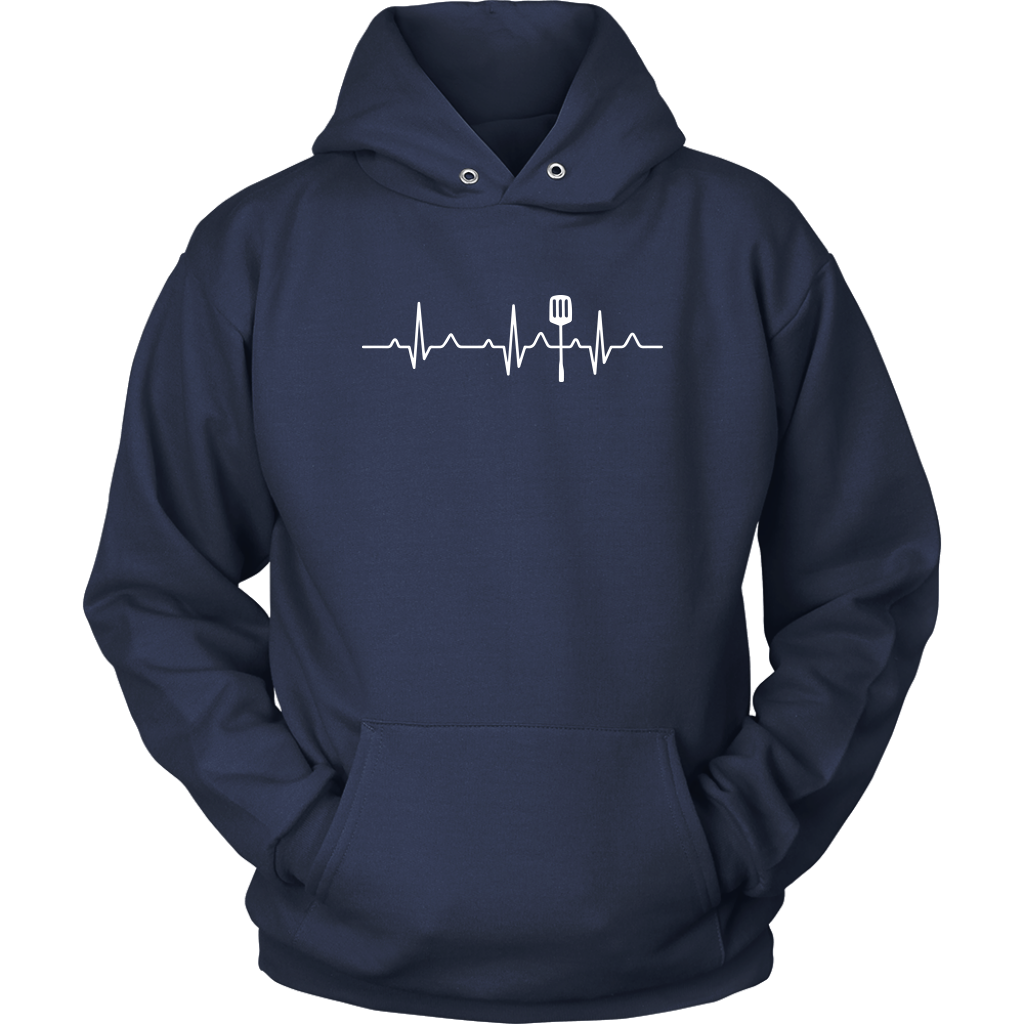 Heartbeat of a Cook Hooded Sweatshirt