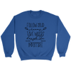 Cooking Word Play Crewneck Sweatshirt