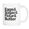 Baking Essentials Mug