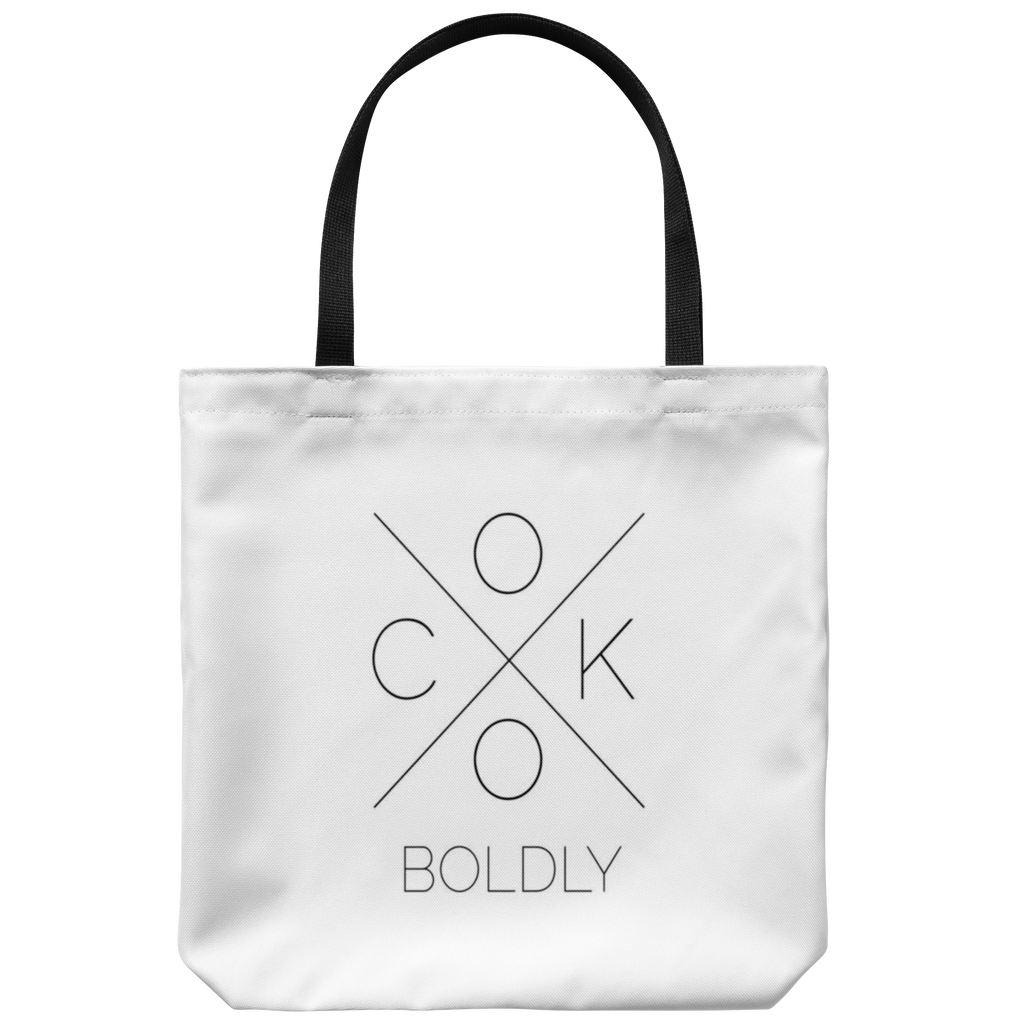 Cook Boldly Tote Bag
