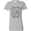 Cooking Word Play Ladies Fitted T-Shirt
