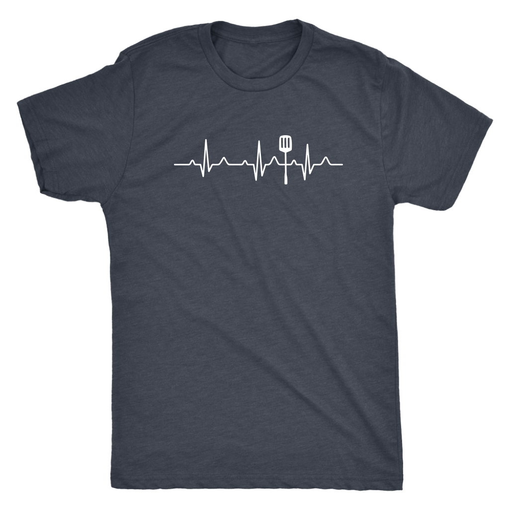 Heartbeat of a Cook Mens T-Shirt