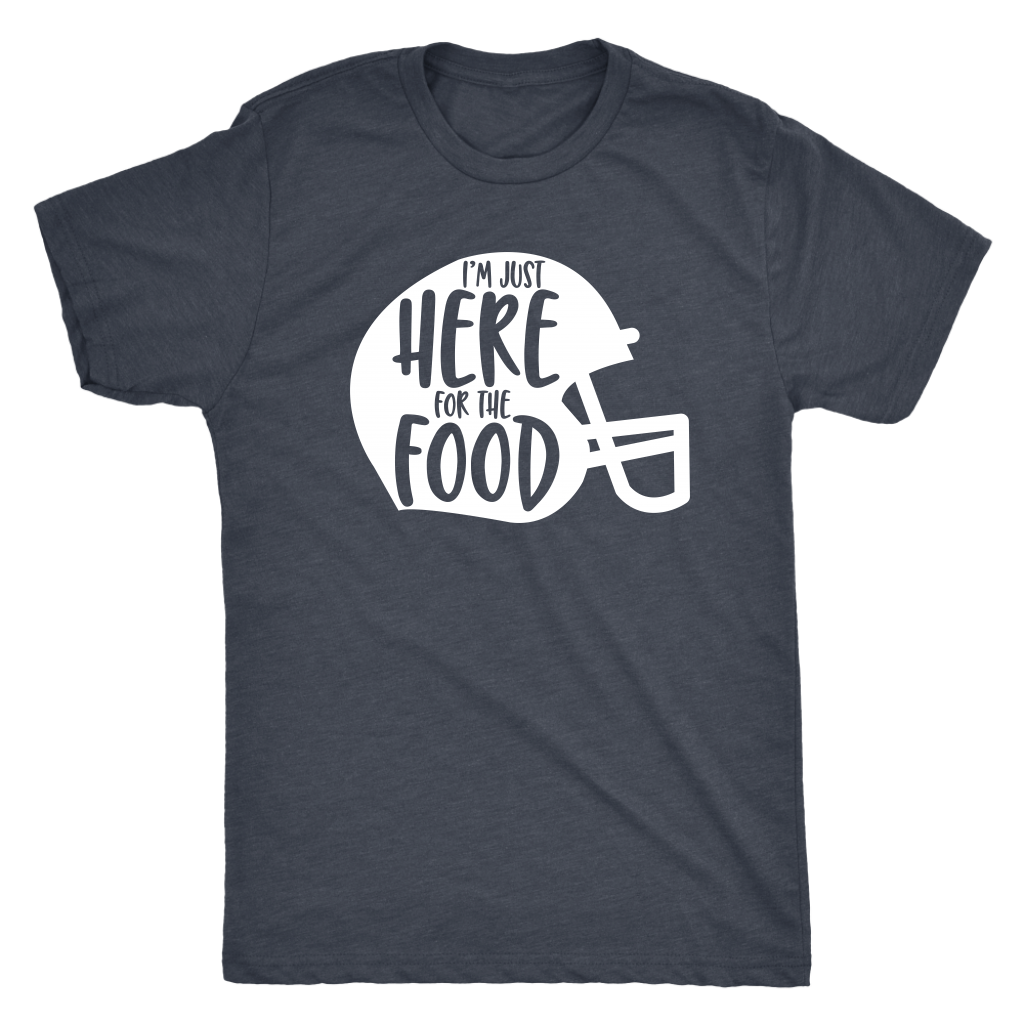 Just Here For The Food Mens T-Shirt