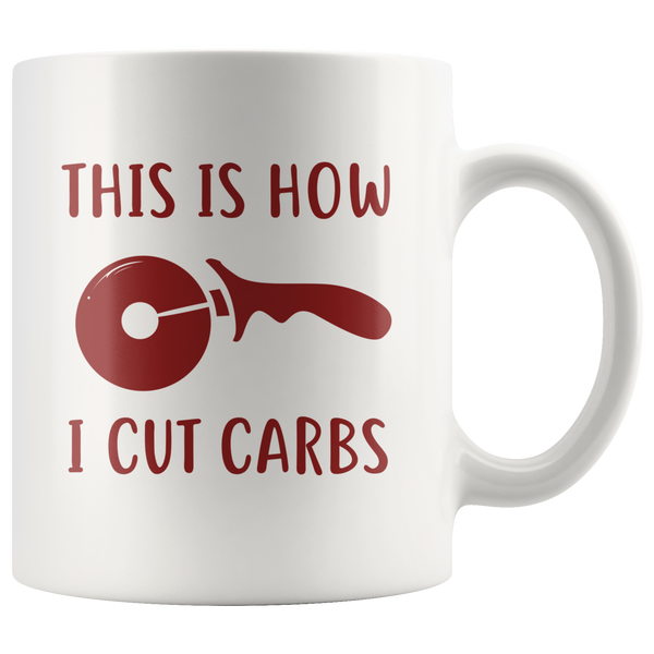 How I Cut Carbs Mug
