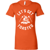 Get Toasted Ladies Fitted T-Shirt