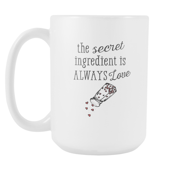 Secret Ingredient is Love Grande Mug