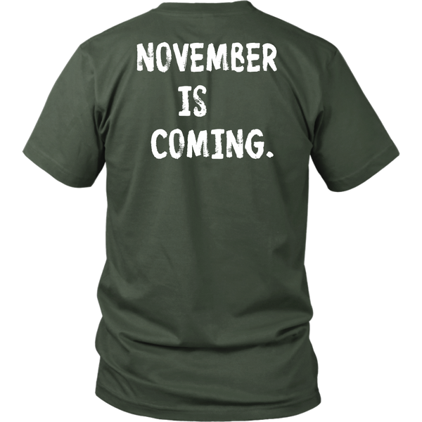 November is Coming Unisex T-Shirt