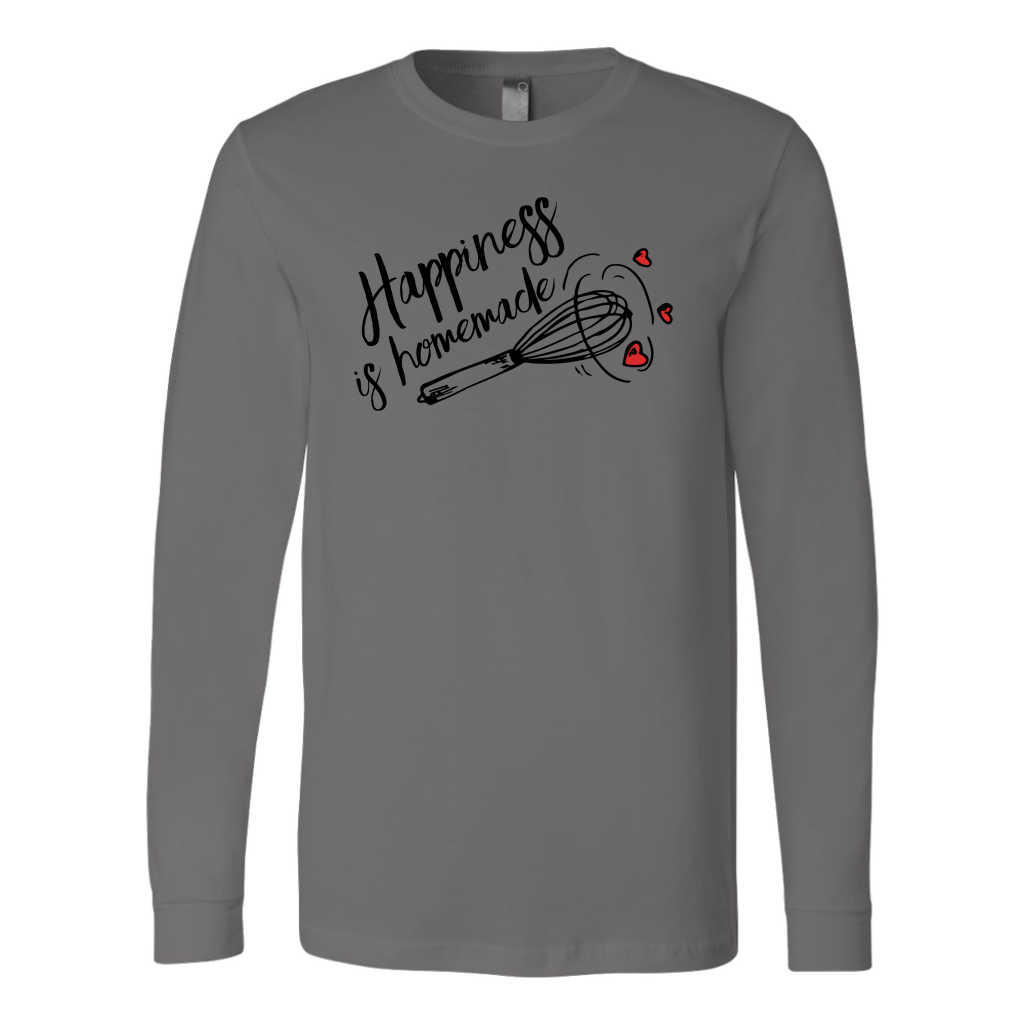 Happiness is Homemade Long Sleeve T-Shirt