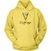 P is for Pizza Hooded Sweatshirt