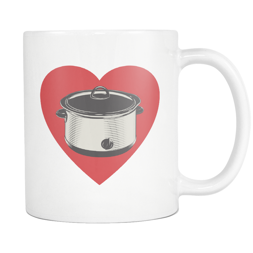 Heart My Slow Cooker Mug