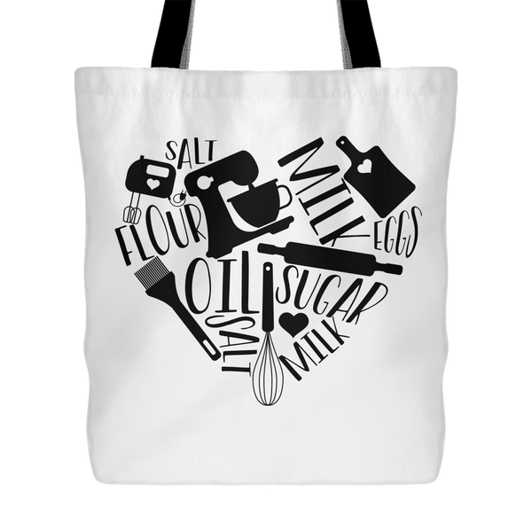 Love to Bake Tote Bag