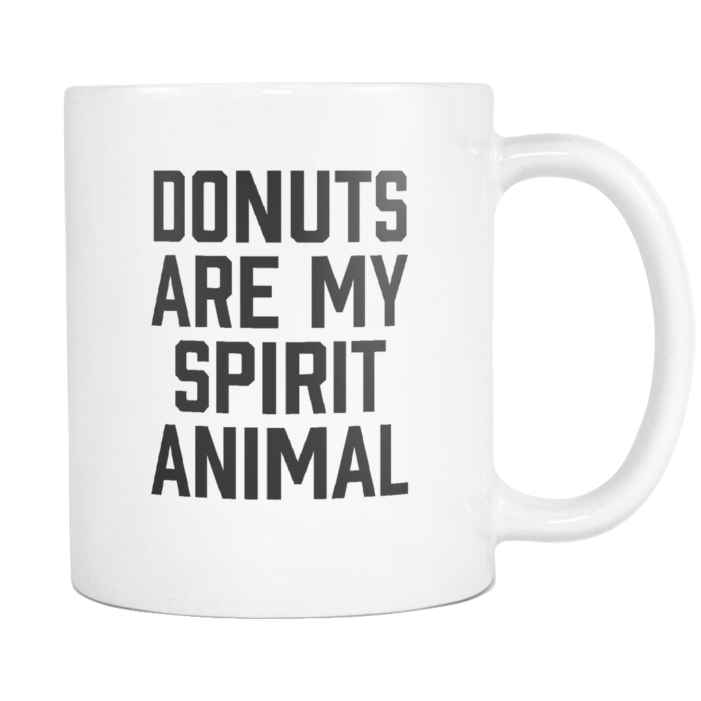 Donuts Are My Spirit Animal Mug