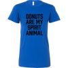 Donuts Are My Spirit Animal Ladies Fitted T-Shirt