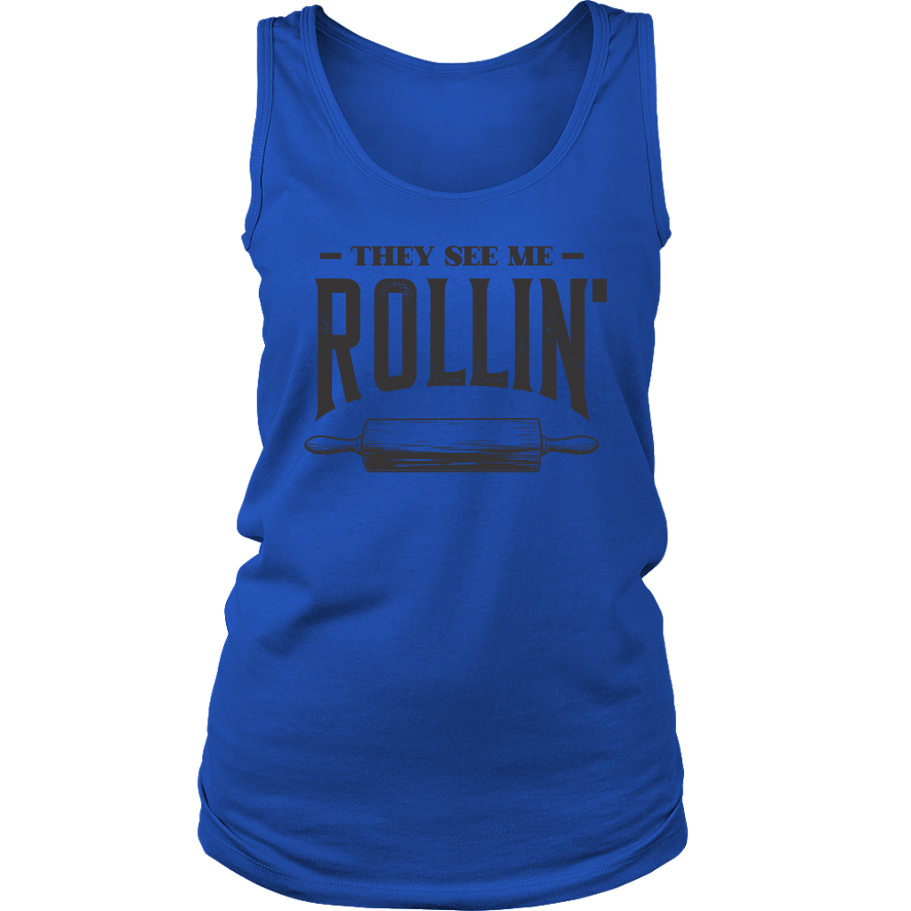 They See Me Rollin' Ladies Tank