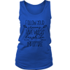 Cooking Word Play Ladies Tank