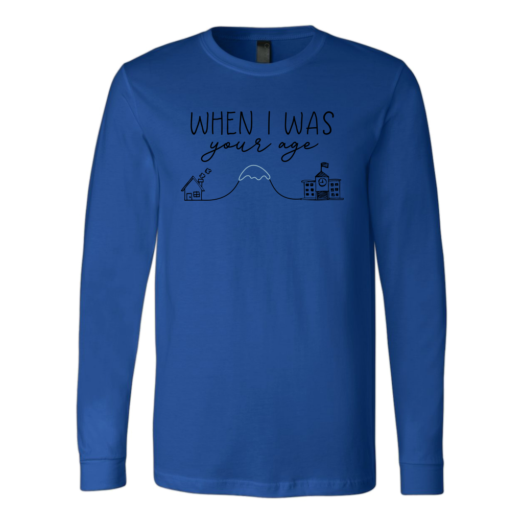Uphill Both Ways Long Sleeve T-Shirt