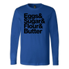 Baking Essentials Long Sleeve T-Shirt