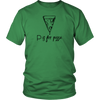 P is for Pizza Unisex T-Shirt