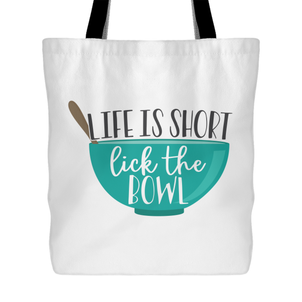 Lick the Bowl Tote Bag