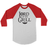 Lord Of The Grill Baseball Tee