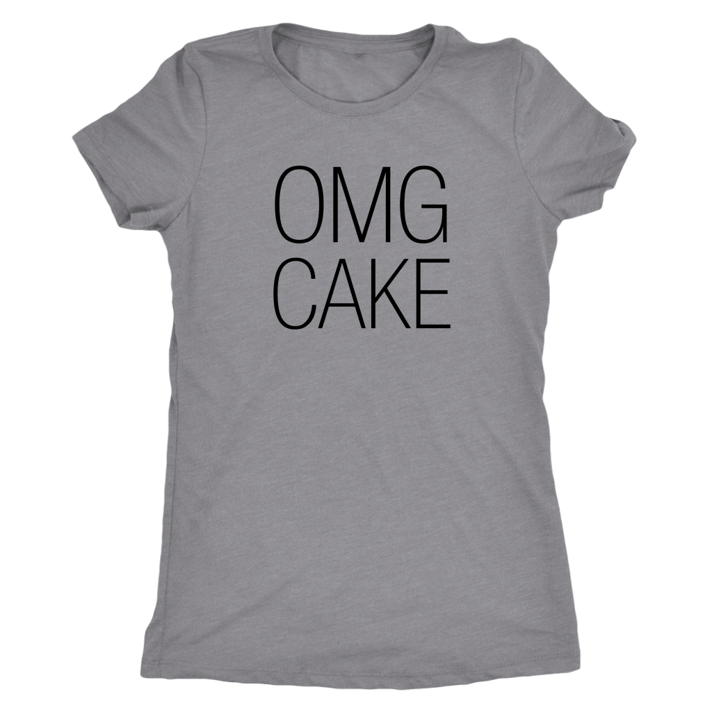 OMG Cake Ladies Shirt