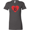 Heart My Mixer Ladies Fitted T-Shirt