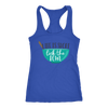 Lick the Bowl Ladies Racerback Tank