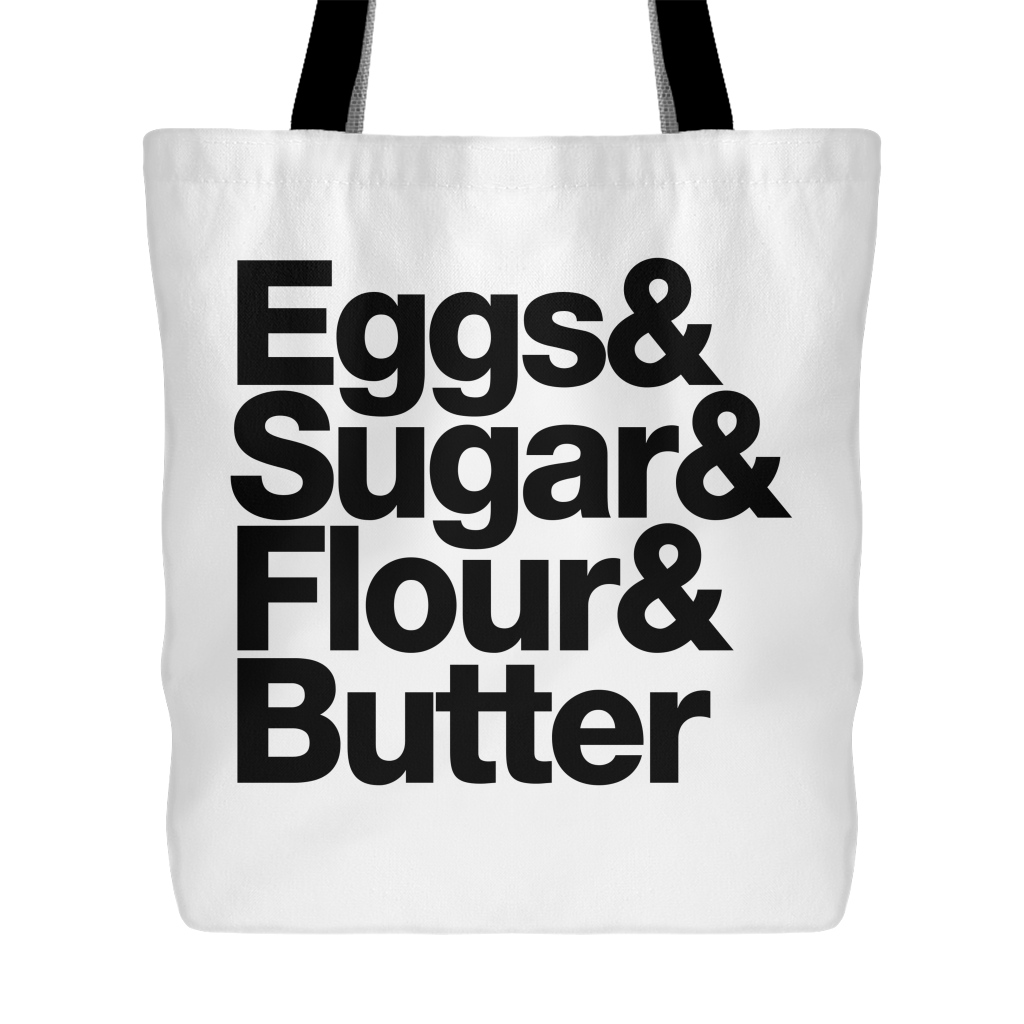 Baking Essentials Tote Bag