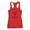 P is for Pizza Racerback Tank
