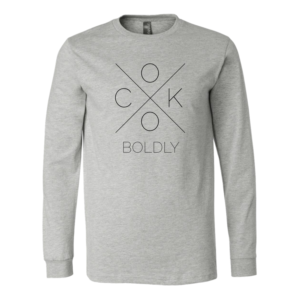 Cook Boldly Long Sleeve T-Shirt