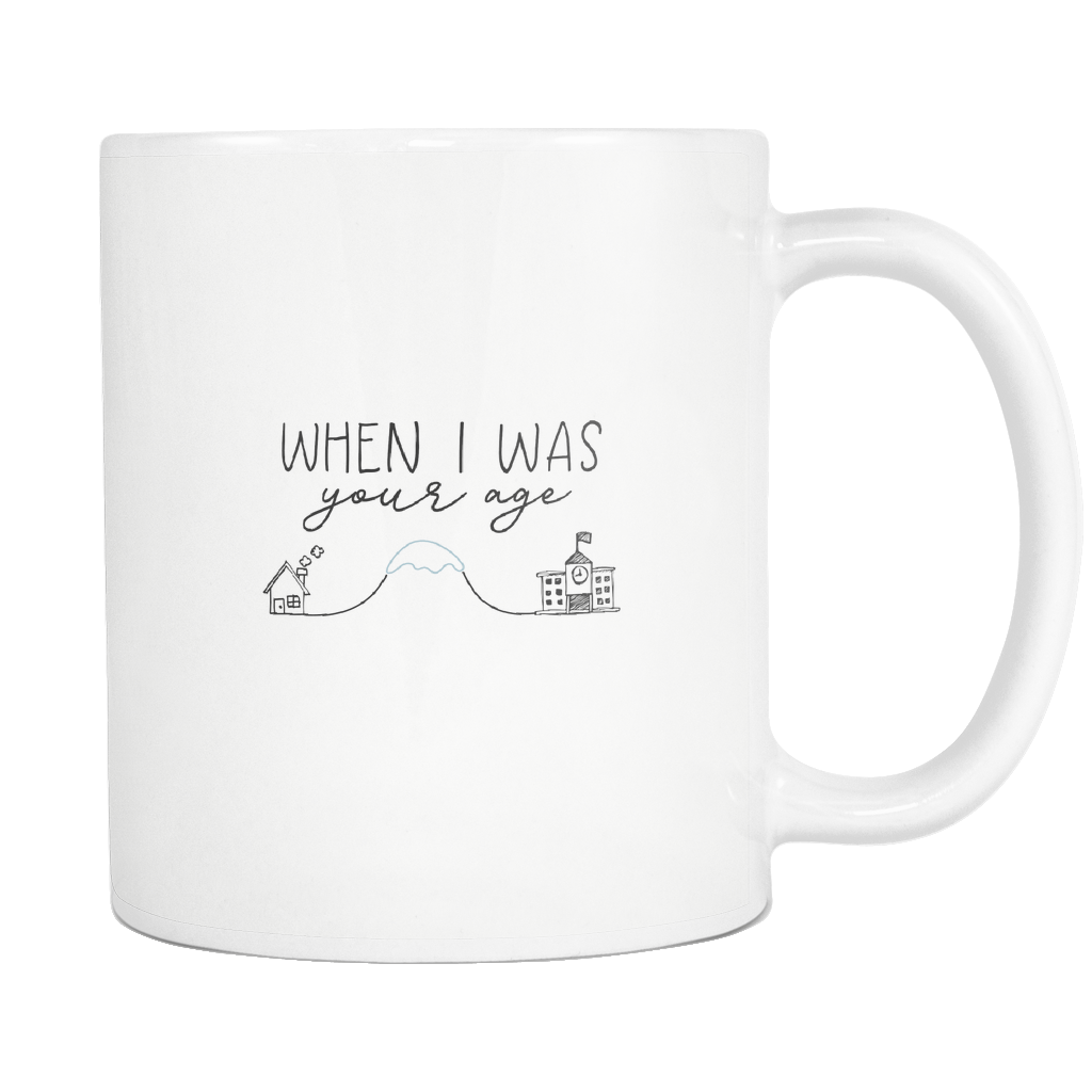 Uphill Both Ways Mug