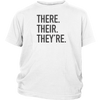 There Their They're Youth T-Shirt