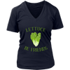 Lettuce Be Friends V-Neck T-Shirt