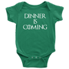 Dinner is Coming Onesie