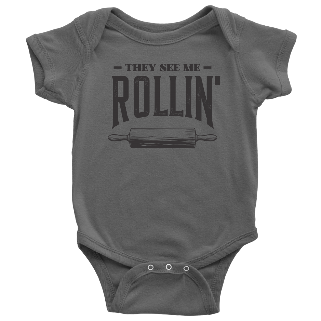 They See Me Rollin' Onesie